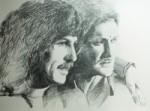 Zeichnungen von Klaus Dieter Schweitz im Star Club (1)