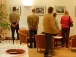 Die ersten Gäste und das letzte Foto (c) Frank Koebsch