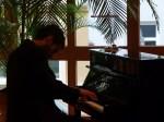 Einspielen am Klavier (c) Frank Koebsch