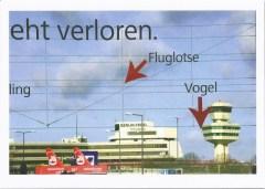 """Postkarte """"geht verloren"""" (c) Foto von Christiane Weidner"""