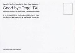 Postkartenedition für unsere Ausstellung - Flughafen Berlin-Tegel, Eine Hommage