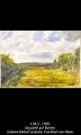Aquarell auf Bütten von Tobias Rehberger - App Deutsche Bank Art Works