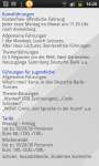 Besucher Information - App Deutsche Bank Art Works