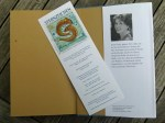 Flyer des Sternzeichen Buches – das passende Lesezeichen für Annette Pehnt