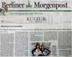 Die Berliner Morgenpost berichtet über unsere Ausstellung zum Flughafen Tegel 2012 06 08