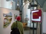 erste Besucher unserer Ausstellung (c) Frank Koebsch