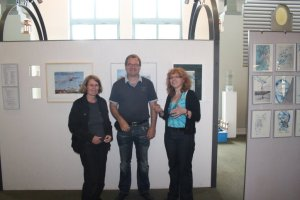 Geschafft ;-) Christiane Weidner, Frank Koebsch, Susanne Haun (vl.) (c) Peggy Blankenburg