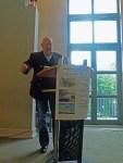 Herr Dr. Peter Funken bei den einleitenden Worten (c) Frank Koebsch