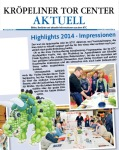 Highlights 2014 - Aquarellworkshop im KTC Rostock
