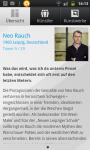 Information über Neo Rauch - App Deutsche Bank Art Works