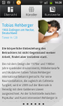 Information über Tobias Rehberger - App Deutsche Bank Art Works