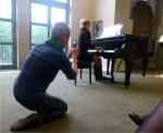 Verehrer von Chopin Musik (c) Frank Koebsch