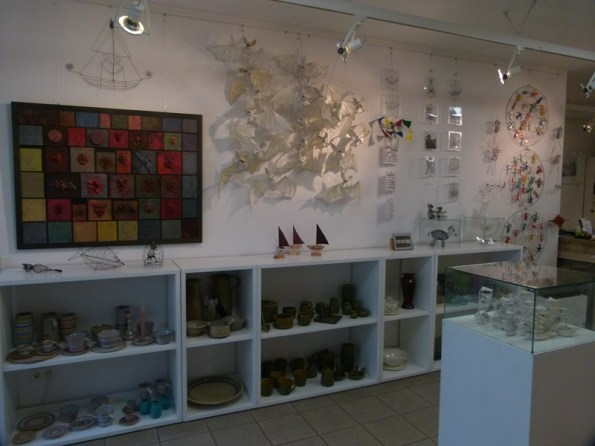 Angelika Wehnes-Stüve in der Galerie Severina (c) Frank Koebsch (1)