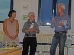 bei der Eröffnung (Frau Arndt, Frau Schwabe, Karsten Peters v.l) (c) Frank Koebsch