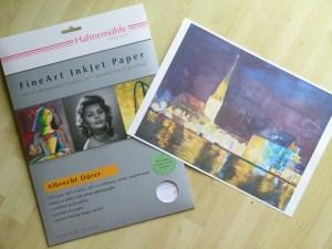 Druck / Reproduktion eines Aquarells auf Hahnemühle FineArt Inkjet Papier (c) Frank Koebsch