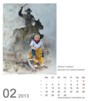 Kalenderblatt Februar 2013
