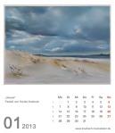 Kalenderblatt Januar 2013