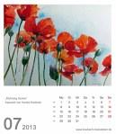 Kalenderblatt Juli 2013