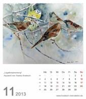 Kalenderblatt November 2013