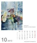 Kalenderblatt Oktober 2013