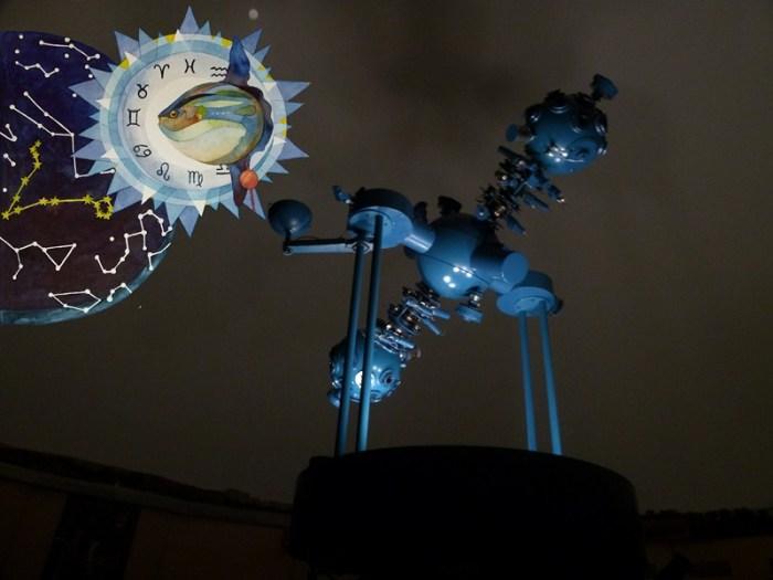 Unsere Sternzeichen im Planetarium Schwerin (c) Frank Koebsch