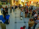 René Gesche – Jazzdiskurs, Andreas Martens – Jazzclub und Frank Koebsch eröffnen die Ausstellung
