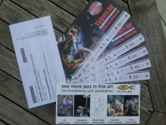 """Gewinnen Sie Tickets im Rahmen der Ausstellung """"see mor jazz in fine art"""""""