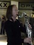"""Jazz von Jürgen Plato in der Vernissage der Ausstellung """"see more jazz in fine art"""""""