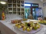 Alles bereit für die Gäste der Ausstellungseröffnung (c) Frank Koebsch