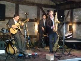 Andreas Pasternack und Band beim Jazz Brunch (c) Frank Koebsch