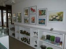 Aquarelle von Hanka & Frank Koebsch in der Galerie Severina (c) FRank Koebsc