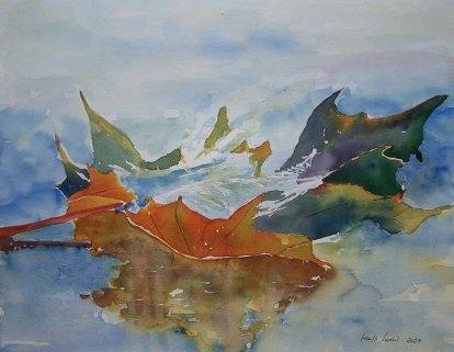 Ausflug (c) Aquarell von Hanka Koebsch
