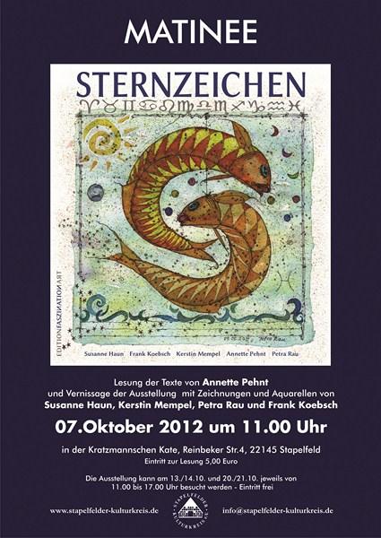 Einladung zum Sterne gucken in Hamburg - Matinee Sternzeichen