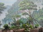 Ich denk, ich steh im Urwald - Illusionsmalerei von Uwe Thürnau (c) Frank Koebsch