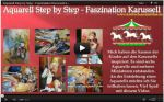 Video - Aquarell Step by Step - Faszination Karussell