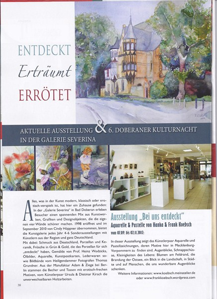 Unsere Ausstellung in der Galerie Severina