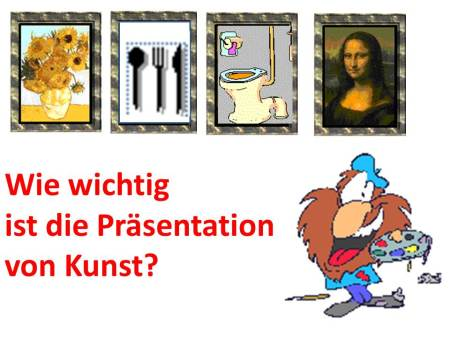 Wie wichtig ist die Präsentation von Kunst? (c) Frank Koebsch