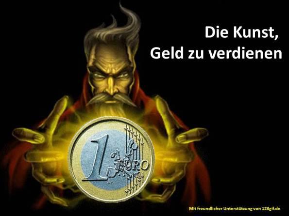Die Kunst, Geld zu verdienen (c) Frank Koebch