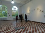 Erste Besucher in unserer Kieler Sternzeichen Ausstellung (c) Frank Koebsch