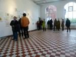 Interessierte Besucher in unser Kieler Sternzeichen Ausstellung (c) Frank Koebsch