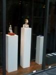 Skulpturen von Katrin Lau in der OZ Kunstbörse 2012 (c) FRank Koebsch