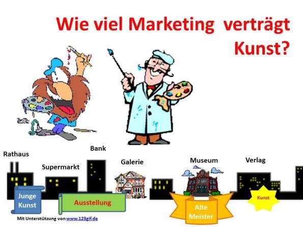 Wie viel Marketing verträgt  Kunst? (c) Frank Koebsch
