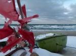 Boot am Strand von Ahrenshoop (c) Frank Koebsch