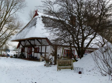 Das Dornenhaus im Schnee (c) Frank Koebsch