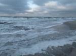 Gischt am Strand (c) FRank Koebsch
