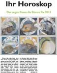 Ihr Horoskop - Das Sagen Ihnen die Sterne für 2013