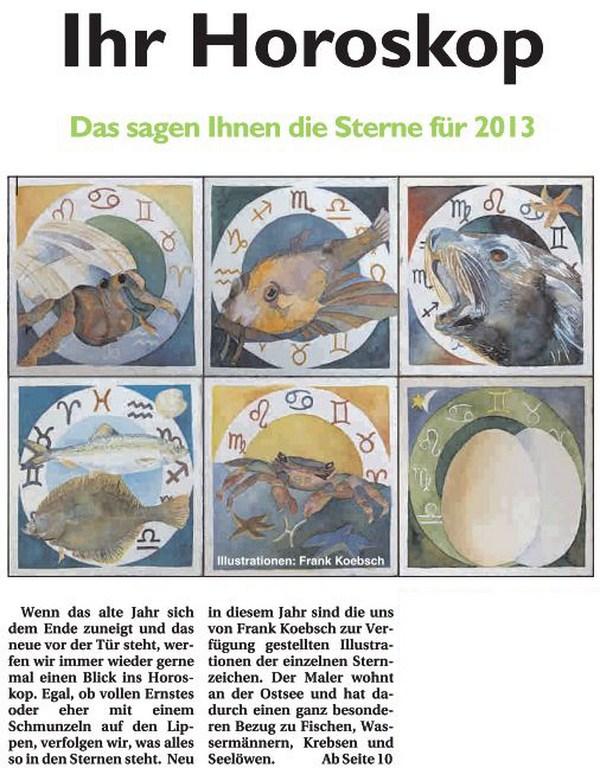 Ihr Horoskop – Das Sagen Ihnen die Sterne für 2013