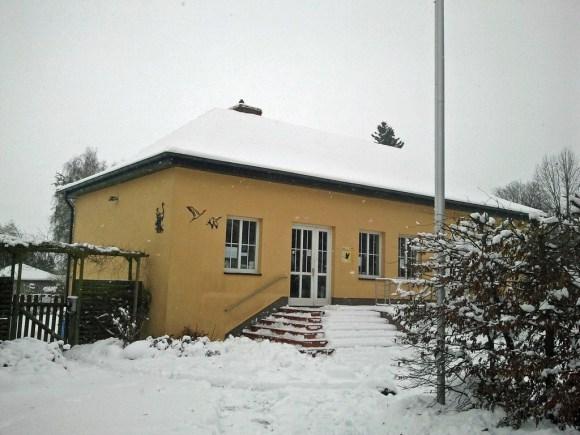 Kranich Informationszentrum Groß Mohrdorf (c) Frank Koebsch