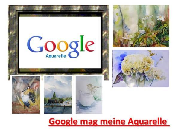 Google mag meine Aquarelle (c) Frank Koebsch