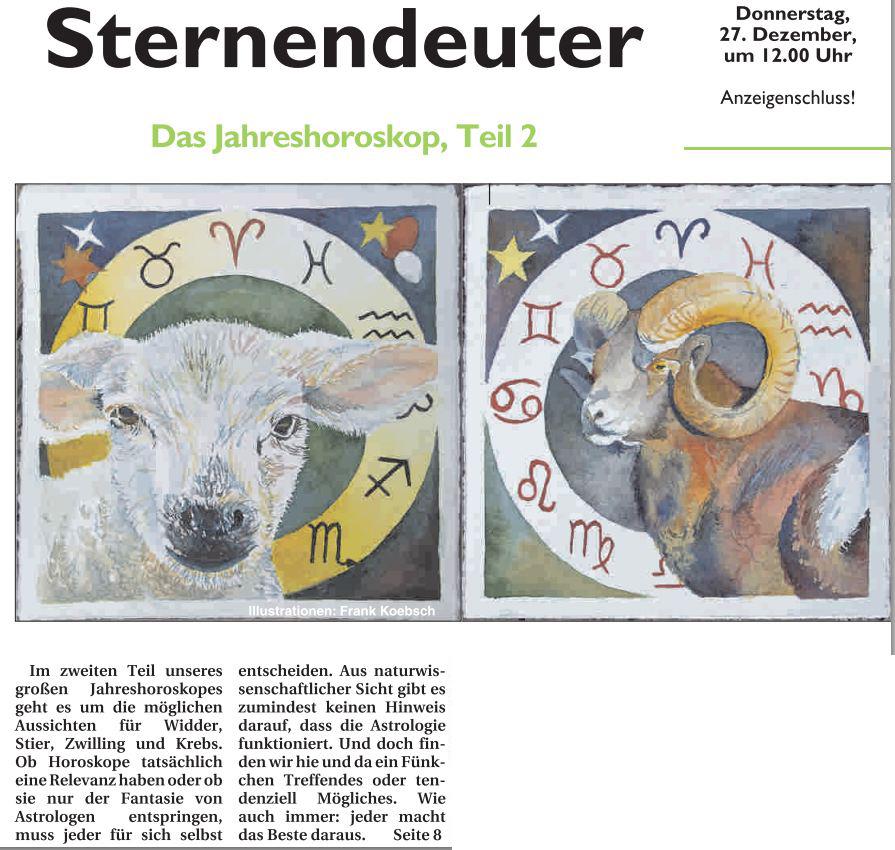 Sterndeuter - Jahreshoroskop Teil 2